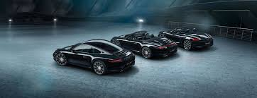 boxster porsche black porsche 911 carrera and boxster get black edition join the dark