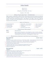 Resume Examples For Jobs In Customer Service by Retail Sales Resume Sales Assistant 3 Job Stuff Pinterest