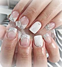 acrylic nail designs for weddings