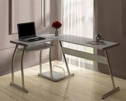 sleek desk stylish l shaped pc desk abreo home furniture