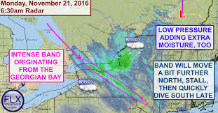 Suny Oswego Map Intense Lake Effect Snow Continues Monday U2013 Finger Lakes Weather