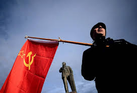 Soviet Russian Flag After The Vote Crimeans Raise Soviet Flag Nbc News