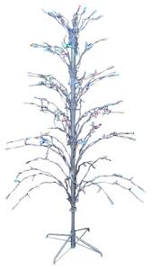 Lighted Branch Tree Led Lighted Christmas Cascade Twig Tree Outdoor Yard Art