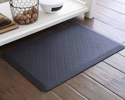 Cushioned Kitchen Floor Mats Gel Cushion Kitchen Mat Black Padded Floor Mats For Standing