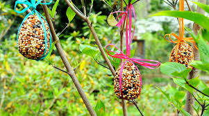egg birdseed ornaments redeem your ground rygblog