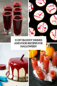 11 diy bloody drinks and food recipes for halloween shelterness
