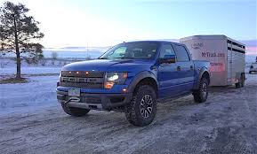 ford raptor lifted and the towing mpg winner is ford raptor 6 2l v8 vs chevy