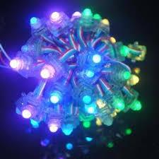 12v Led Light String by Led Module Light 500pcs Square Addressable Ws2801 F8 Rgb