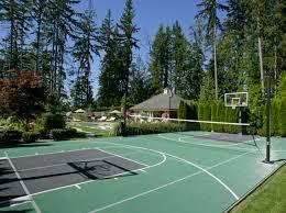 backyard sports courts 360 sports system u0026 syngrass