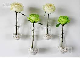 Wall Hanging Picture For Home Decoration Creative Home Decoration Wall Hanging Glass Vases Wedding Flower