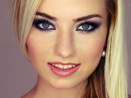 wedding makeup blue eyes romantic makeup for blue eyes and blonde