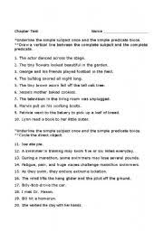 20 best images of 7th grade subjects and predicates worksheets
