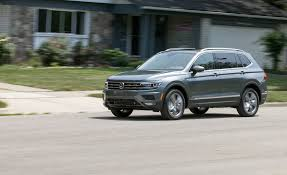 volkswagen jeep tiguan 2018 volkswagen tiguan 4motion test review car and driver