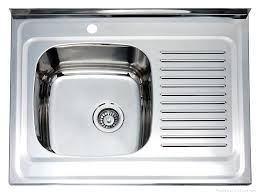 Stainless Steel Double Bowl Sink With Drainboard Luxurydreamhomenet - Kitchen stainless steel sink