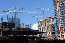 terex tower cranes dominate miami mixed use development