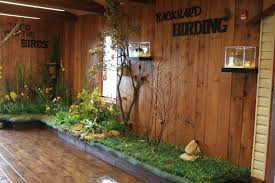 inside the nature center backyard birding dickinson county