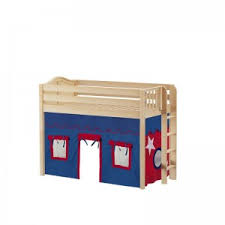 mid loft beds u0026 kids storage beds maxtrix kids