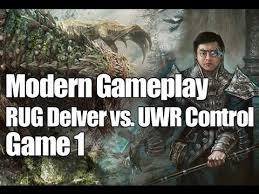 Rug Delver Modern Mtg Modern Gameplay Rug Delver Vs Uwr