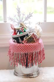 warm u0026 cozy chocolate gift basket diy gift link party pretty