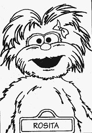 sesame street grover coloring pages