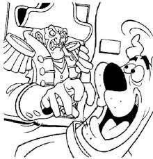 scooby doo monster coloring pages coloring pages