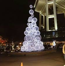 cheapest christmas outdoor lights decorations create chicken wire balls and cover with lights dramatic