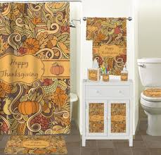 thanksgiving shower curtain personalized potty concepts
