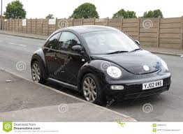 volkswagen black black volkswagen new beetle car editorial photo image 59850916