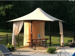 Outdoor Cabana Curtains Commercial Pool Cabana Square Fixed Umbrella Shelter