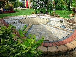 Small Backyard Landscaping Ideas by Garden With Pavers U2013 Satuska Co