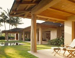 Tropical Patio Design Meuble En Bois Exotique Guest Lanai Idees Maisons Pinterest