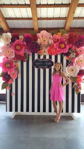 How To Decorate Birthday Party At Home by Best 25 Paper Flower Decor Ideas On Pinterest Paper Flowers