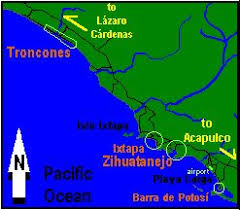zihuatanejo map 33 best zihuatanejo images on mexico ixtapa mexico