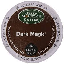 Top Of Coffee Cup Keurig Green Mountain Coffee Dark Magic Extra Bold K Cup