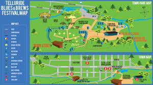 Festival Map 2016 Telluride Blues U0026 Brews Festival Map