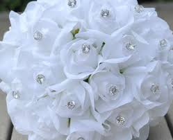 brides bouquet silk wedding flowers artificial wedding bouquets and silk bridal