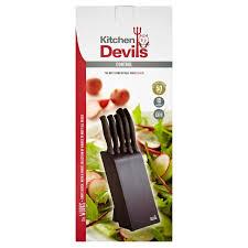 kitchen devils knives morrisons kitchen devils knife block product information