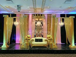 wedding backdrop mississauga beautiful indian outdoor wedding ceremony gps decors