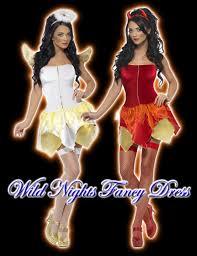 Devil Angel Halloween Costumes Halloween Fancy Dress Naughty Nice Reversible Devil Angel Lg