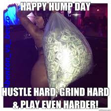 Hump Day Meme Funny - happy hump day hustle hard grind hard play even harder hump