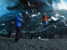 the ice queen winter ice caving tour