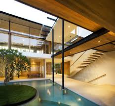 contemporary house plans with pool pools waplag excerpt clipgoo