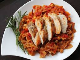 Dinner Ideas Using Chicken Skillet Whole Wheat Pasta With Chicken And Chickpeas Recipe