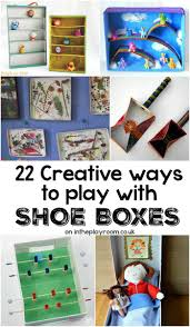 creative ideas to make with cardboard shoe boxes diy toys fun