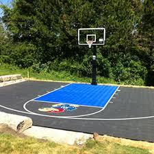 backyard basketball court flooring basketball court construction gym flooring home putting greens