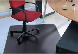 Chair Mat For Hard Floors Black Chair Mat For Hardwood Parquet Laminate