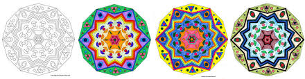 free mandala coloring pages musings