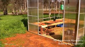 Greenhouse 6x8 Hd Greenhouse Aquaponics Building The Foundation Harbor Freight