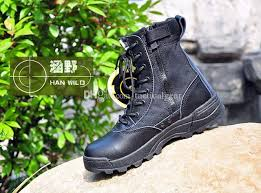 zipper boots s swat s tactical boots zipper design desert boots combat