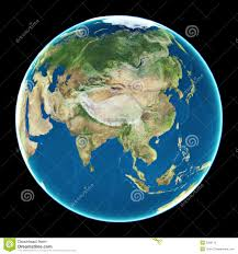 China On World Map by China On Planet Earth Royalty Free Stock Photo Image 3035175